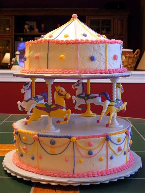 Carousel Decorations by 17 Best Images About Carousel Cakes On Circus