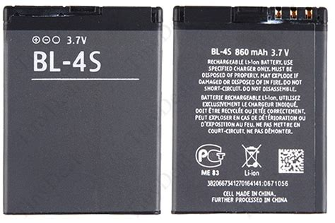 Termurah Battery Baterai Ori Nokia Bl 4s spare mobile battery bl 4s bl 5ca for nokia 2680s mbt 5834 tinydeal