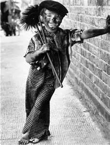 Victorian child chimney sweep