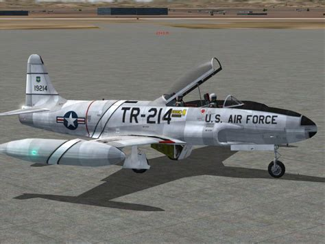lockheed t33 jets aircraft for sale used new 1 2 sp2 a lockheed t 33a t bird jet training aircraft for fsx