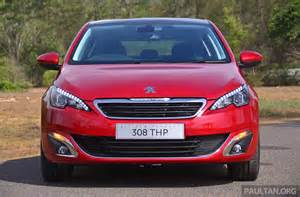 Peugeot In Malaysia Driven 2015 Peugeot 308 Thp 150 Tested In Malaysia Image