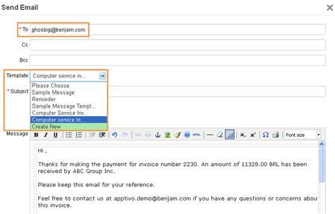 Setup Custom Email Templates   Apptivo FAQ