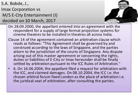 section 11 of arbitration act dr mohan r bolla law lecture the icc rules of arbitration