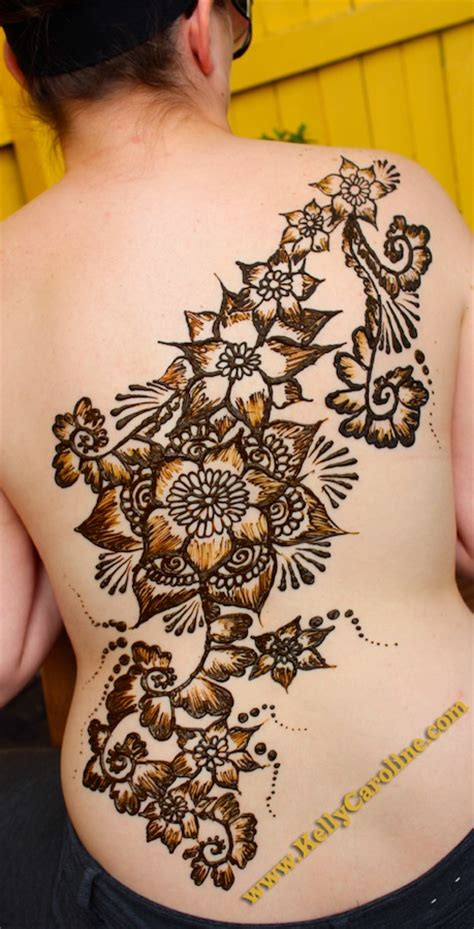 lower back henna tattoo designs henna by caroline i flowers i think that s