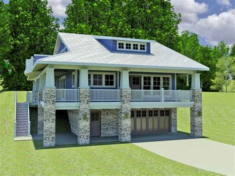 basement home plans hillside home plans with walkout basement small hillside