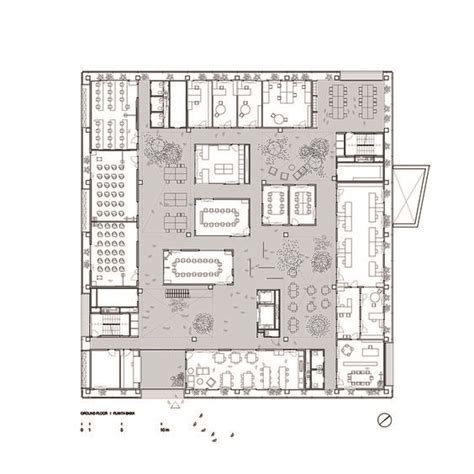 research center floor plan gallery of research center icta icp 183 uab h arquitectes