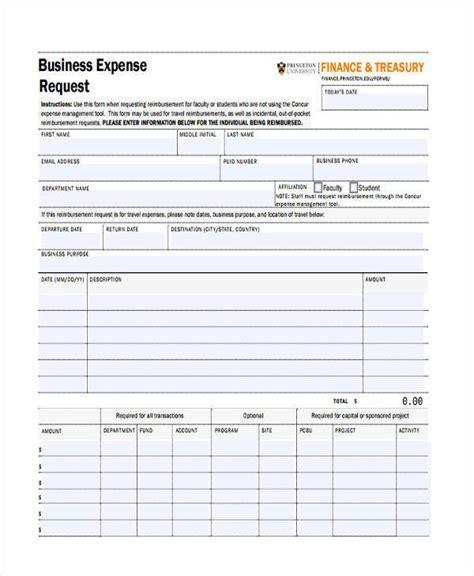 expense request form template expense request form template ideal vistalist co