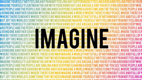 testo imagine lennon quotes imagine quotesgram