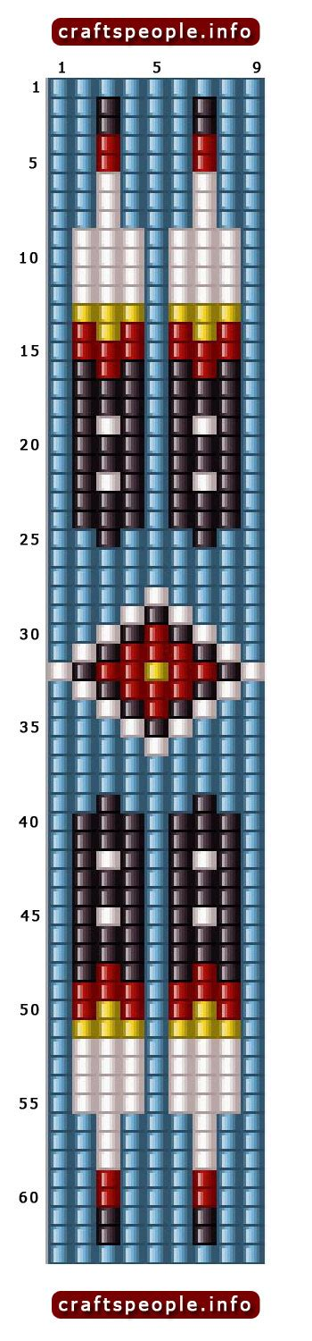 loom beading patterns free 1000 images about beading pattern on guitar