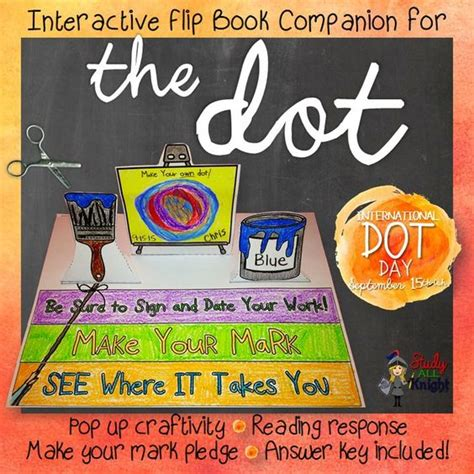 things the companion books international dot day and the dot on