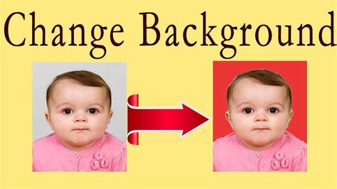change background of my photo how to change background color of passport size photo in