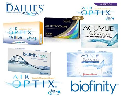 best contact lenses brand contact lens brands images