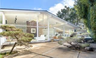 mid century homes private refined brentwood mid century modern home for sale