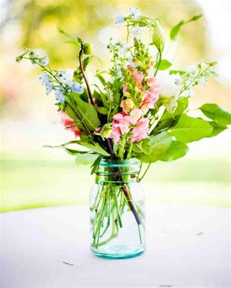 simple flower arrangements for tables 36 simple wedding centerpieces martha stewart weddings