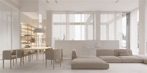 Minimalist Space by 40 Gorgeously Minimalist Living Rooms That Find Substance