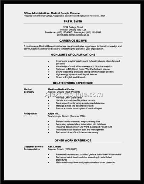 front desk resume sample ideas business document