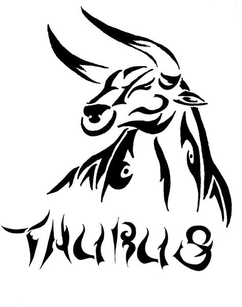 collection of 25 new taurus head tattoo model