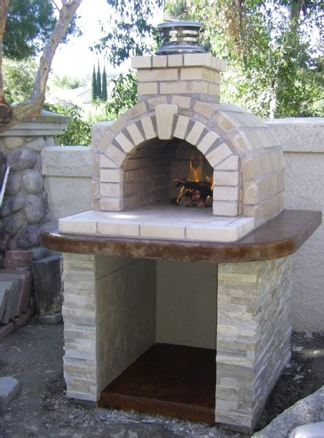 build wood fired pizza oven your backyard the schlentz family diy wood fired brick pizza oven by