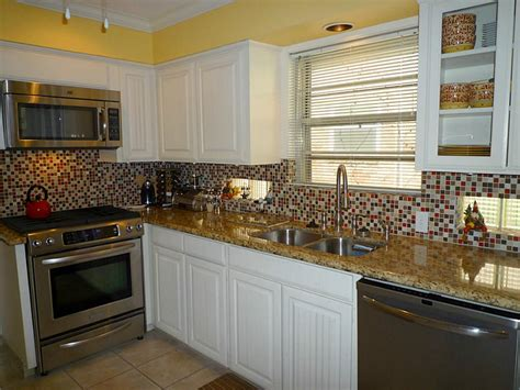 backsplashes for small kitchens kitchen ideas with glass tile backsplash white cabinets smith design