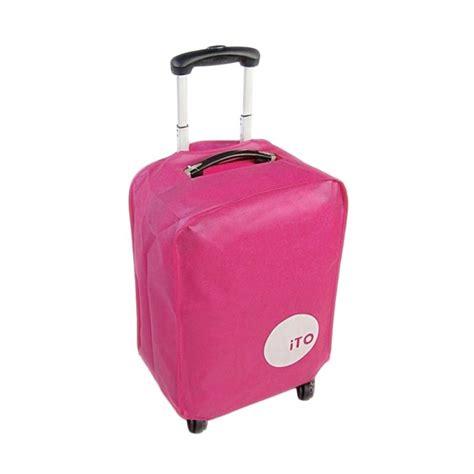 Cover Pelindung Koper Jual Ito Luggage Cover Pelindung Koper 24 Inch Harga Kualitas Terjamin Blibli