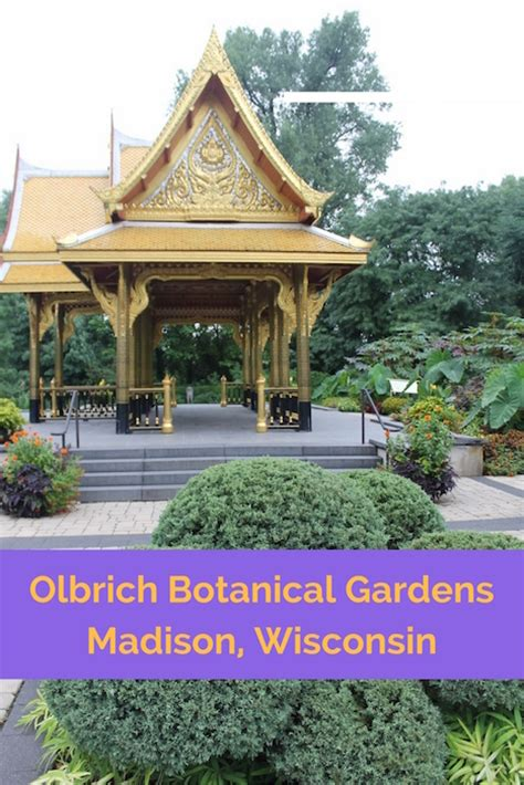 Olbrich Botanical Gardens Wi by Olbrich Botanical Gardens In Wi Road Trips For