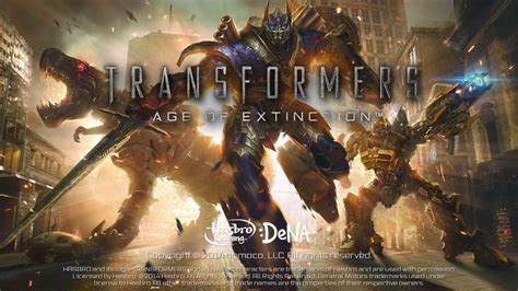 transformers age of extinction the official game ios