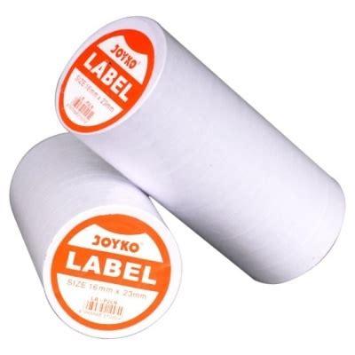 V Tec Price Labeller kertas stiker label harga 2 baris buat label harga lebih