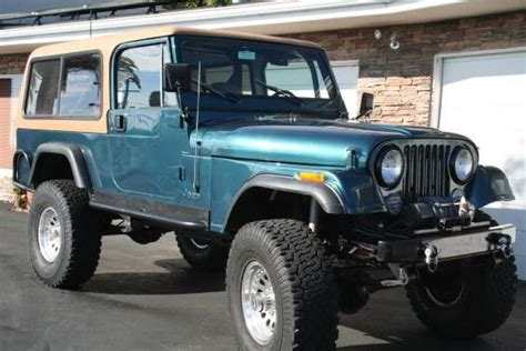 Jeeps For Sale In Ca 7 Best Images About Jeep Cj8 Scrambler On Cars