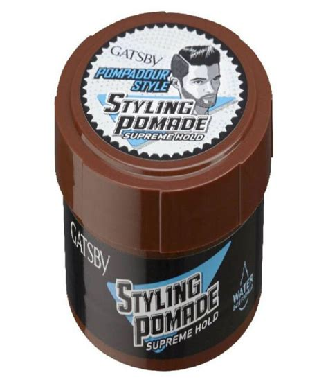 Gatsby Hair Styling Pomade gatsby pompadour style styling supreme hold pomade 80 gm