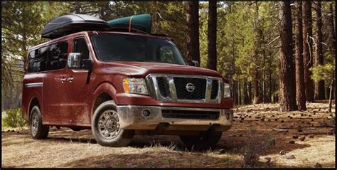 nissan nv passenger review nv  van