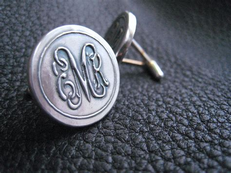 Alphabet Script G Cufflinks buy crafted sterling silver cufflinks with vine monogram entwined interlaced script letters
