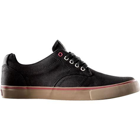 dekline shoes dekline timtim skateboard shoes black gum waxed canvas