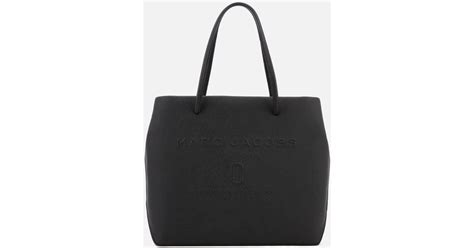 Versace Icon Monogram Eastwest Satchel by Lyst Marc Logo Shopper East West Tote Bag In Black
