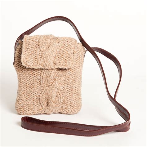 brown wool sling bags swing with sling bags