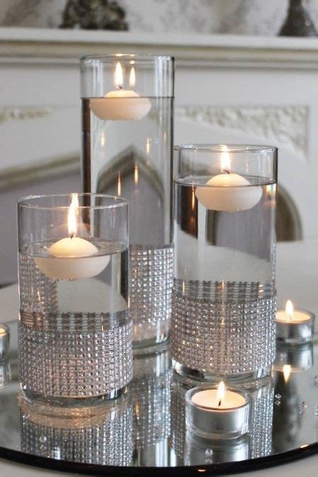 cheap floating candles for centerpieces best 25 water centerpieces ideas on floating