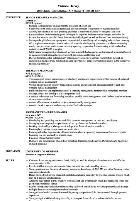 treasury resume resume for study advertising production
