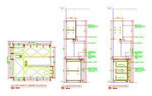 kitchen cabinet detail details dry pantry pantry cabinet details dwgautocad