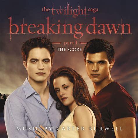 twilight saga breaking dawn part 1 cd cover carter burwell music fanart fanart tv