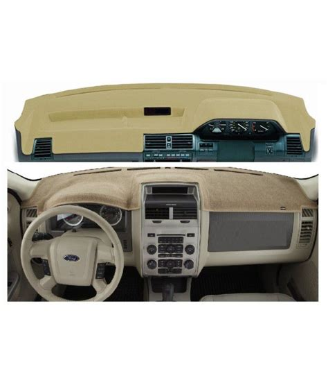 Dasboard Mobil Cover Dashboard Ford Escape Polos spedy beige synthetic velvet dashboard mat for tata sumo