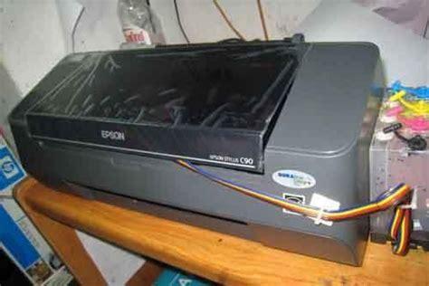 Tinta Printer Epson Stylus C90 cara servis printer epson c90 tidak bisa narik kertas
