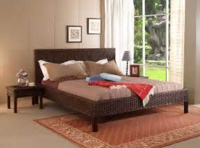 wicker bedroom furniture the exciting features and characteristics of wicker