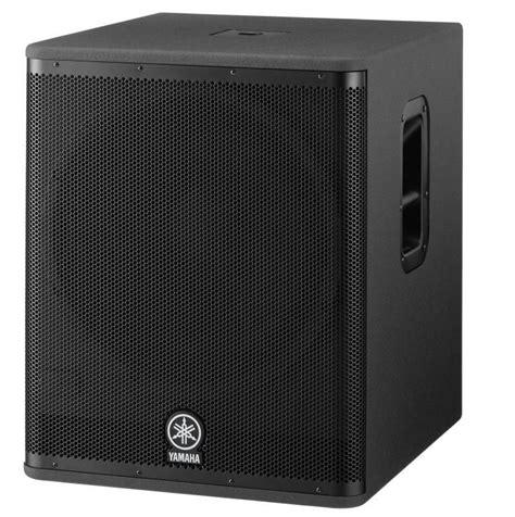 Speaker Aktif Yamaha Dsr 118w Yamaha Dsr 118 W 18 2 1300watt Aktif Subbass Kabin Subbass
