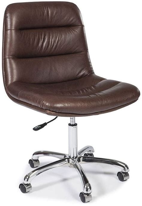 beige leather desk chair executive beige leather office chair wh c1611 9204