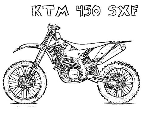 ktm motorcycle coloring pages 6 images of ktm kids dirt bike coloring pages ktm dirt