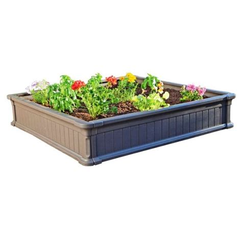 lifetime raised garden bed lifetime raised garden 60069 4 foot size package of 3 beds