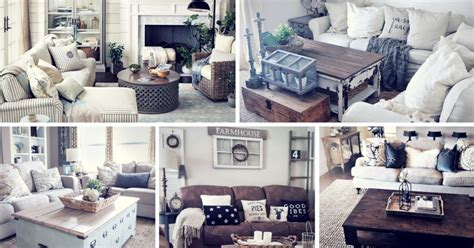 rustic home decorating ideas living room 27 rustic farmhouse living room decor ideas for your home