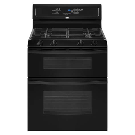 Oven Gas Golden Standard whirlpool ggg388lxb 6 cu ft oven gas range black