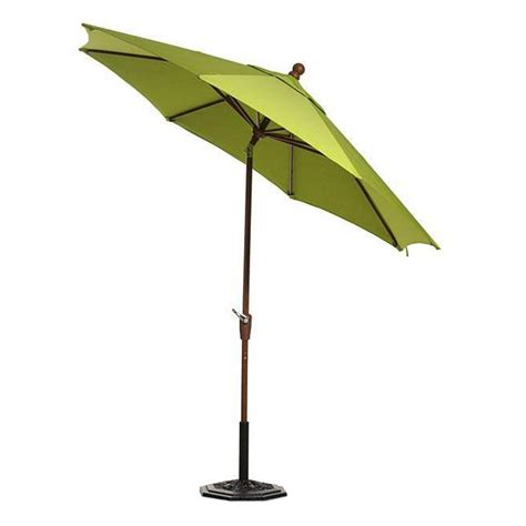 Half Patio Umbrella Blue The Wall Brella 9 Ft Patio Half Umbrella In Chocolate Sunbrella Otwb 9sc