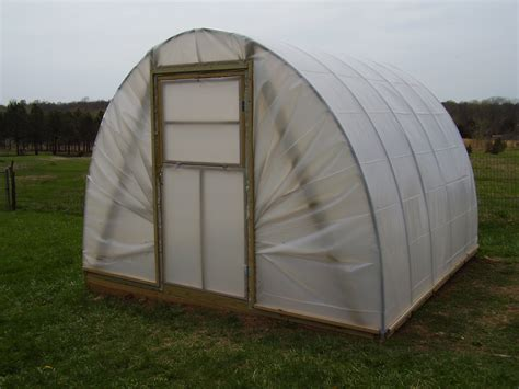 Build a Hoop House Greenhouse   YouTube