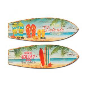 planche de surf bois d 233 co murale antic d 233 co